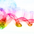 Color smoke as abstract backgrounds — Stock Photo