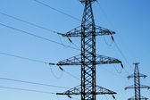 Electricity line — Stock Photo