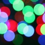 Christmas bokeh lighteffects — Stock Photo