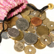 Sack, bag coins — Stock Photo #2114055