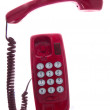 Red telephone — Stock Photo #2114111