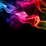 煙の抽象的な背景 — ストック写真
