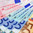 Stock Photo: Euro cash money concept