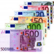 Euros Credit - cash money concept - Stock Photo