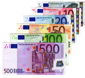 Euros Credit - cash money concept — Stockfoto