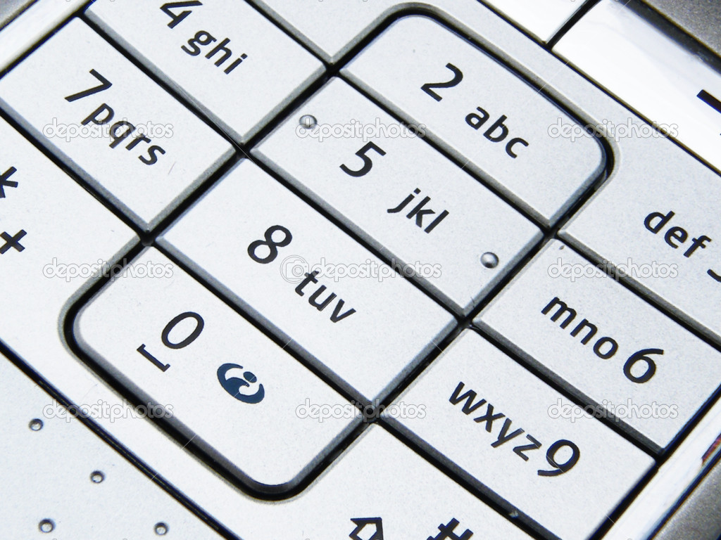Telephone dial, keypad — Stock Photo #2113833
