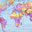 Climate map of world — Stock Photo #2133492
