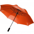 Red umbrella  isolated - Stock Photo