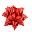 Red bow isolated — Stock Photo
