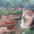 Stock Photo: LeshGiant Buddhin Mt.Emei of china