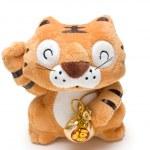 Stuffed animal tiger toy — Stock Photo
