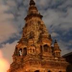 Evening of durbar square,nepal — Stock Photo #2093846