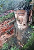 Leshan giant budda w mt.emei ludowej — Zdjęcie stockowe