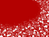 Abstract hearts background for holidays — Stock Photo
