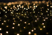 Holiday lights effects sparkling — Stock Photo