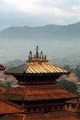 ネパールのダルバール広場の朝 — ストック写真