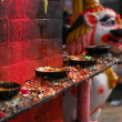 Candleholders of hinduism at nepal — ストック写真 #2101376