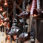 Wooden fish Sculpture of bhaktapur,nepal — Stock Photo #2104012