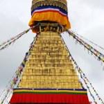 Bodhnath stuba in kathmandu nepal — Stock Photo