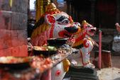Svícny hinduismus v nepálu — Stock fotografie