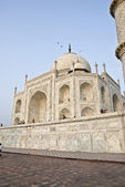 Taj Mahal of Agra India — Stock Photo