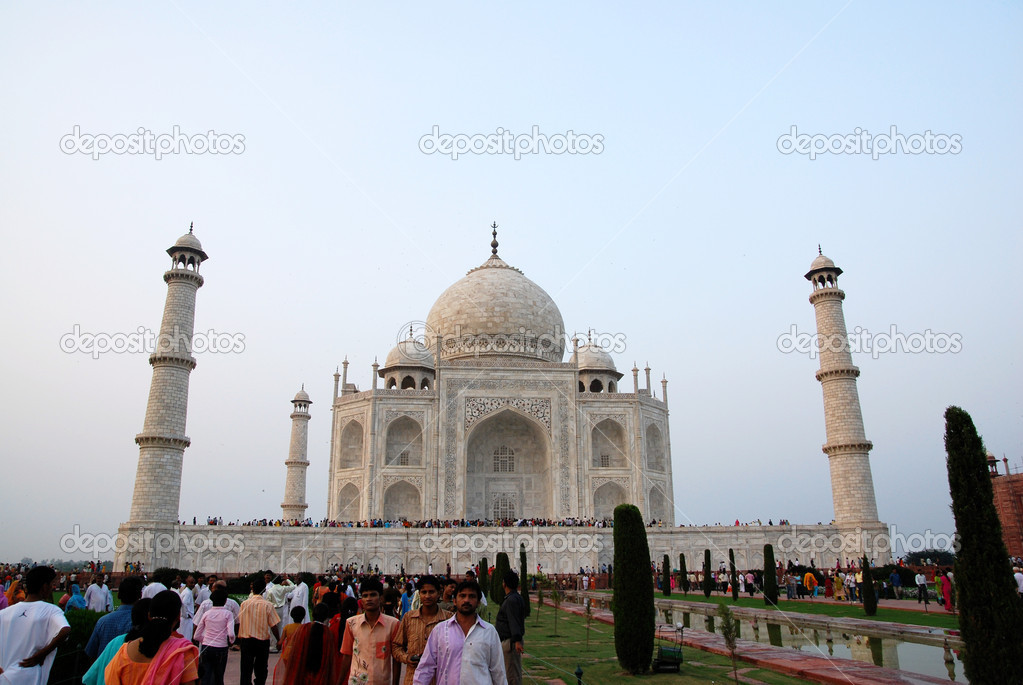 Taj Mahal of Agra India — Stock Photo #2111115