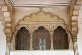 Hall and porch of Agra Fort India — Zdjęcie stockowe