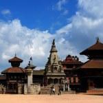 Patan Durbar Square at Kathmandu, Nepal — Stock Photo