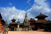 Patan Durbar Square at Kathmandu, Nepal — Stock Photo