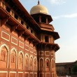 Architecture in Agra fort of India — Stock Photo