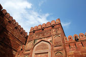 Entrance Gate close-up in Agra fort — Stock Photo