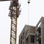 Crane details at Construction Site — Stock Photo