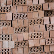 Pile Of Hollow Bricks - Stock Photo