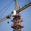 Tower Crane under blue sky — Stock Photo #2576707