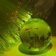 Technology earth globe — Stock Photo #2078935