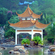 Chinese gloriette - Stock Photo