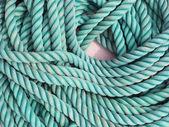 Cuerda azul textura — Foto de Stock