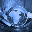 Technology earth globe — Stock Photo #2340866