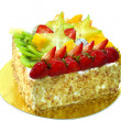 Fruit cake - Stock Photo