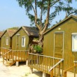 Beach Huts - Stock Photo