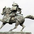 Kusunoki masashige statue outside imperi - Stock Photo