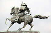 Kusunoki masashige statue outside imperi — Stock Photo