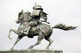 Kusunoki masashige statue outside imperi — Stock Photo