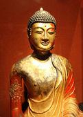 Retrato de una antigua estatua de buda — Foto de Stock