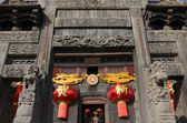 Traditional Chinese Door — Stock Photo