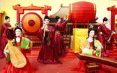 Chinese colorful lantern model festival — Stock Photo