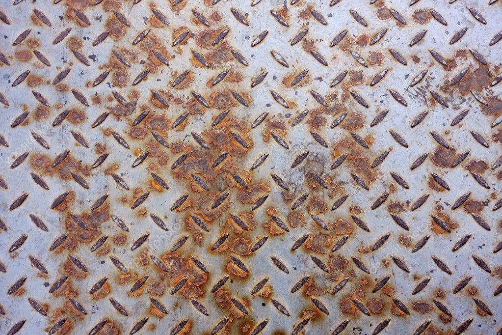 Rusty Metal Floor Texture Rusty Texture of Metal Floor
