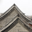 Chinese old architecture roof details — Stock Photo