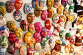 Many little masks — Stock Photo