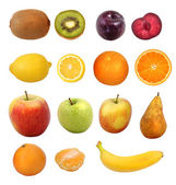 Fruit collection — Foto de Stock